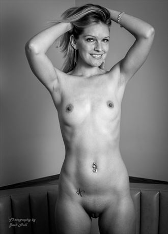 an early figure study artistic nude photo by photographer jack hall