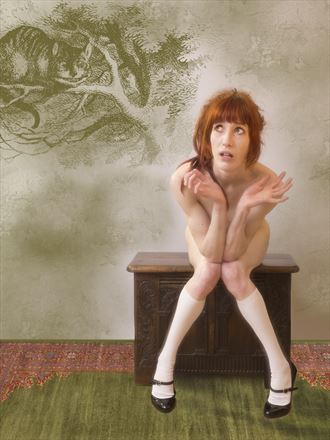 and very curious indeed artistic nude photo by photographer psychefineart
