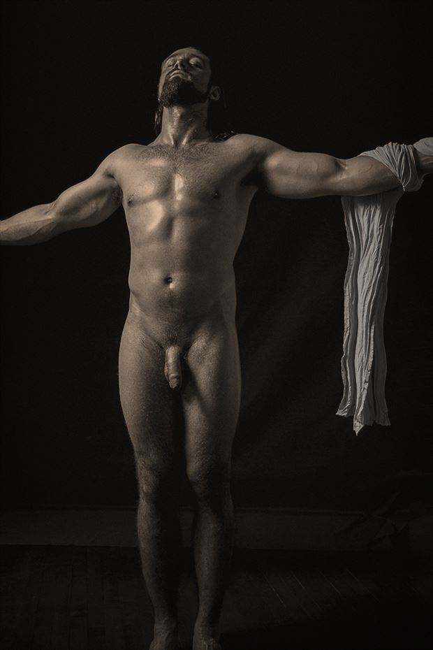 andrew artistic nude photo by photographer george ekers