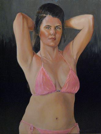 angel bikini artwork by artist richard_shook