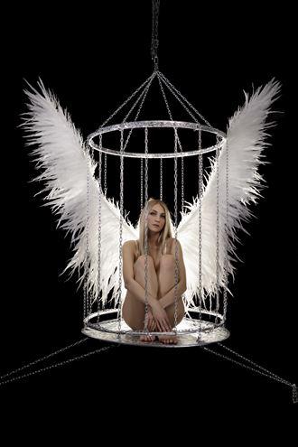 angel in captivity artistic nude photo by photographer dmitrii svetov