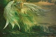 angel of the sea artistic nude artwork by artist digital desires