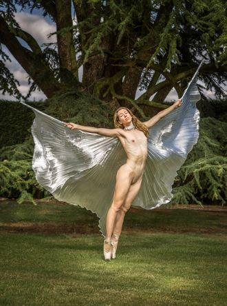 angel wings artistic nude photo by photographer maxoperandi