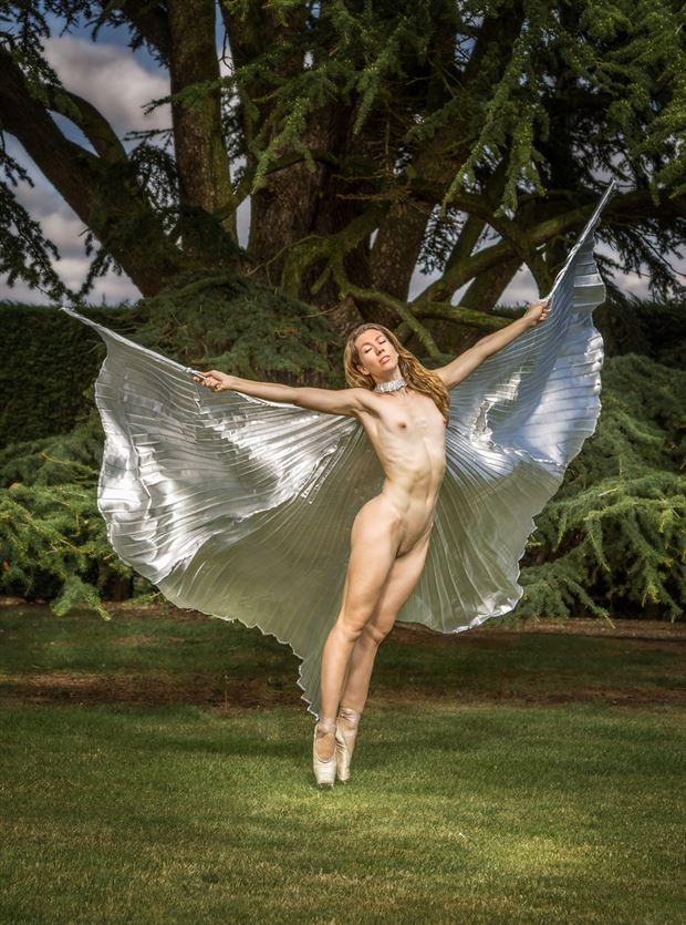 angel wings artistic nude photo by photographer maxoperandi