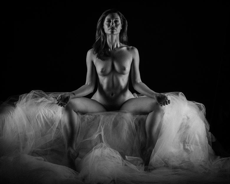 angel wings laid down artistic nude photo by photographer 2photographics