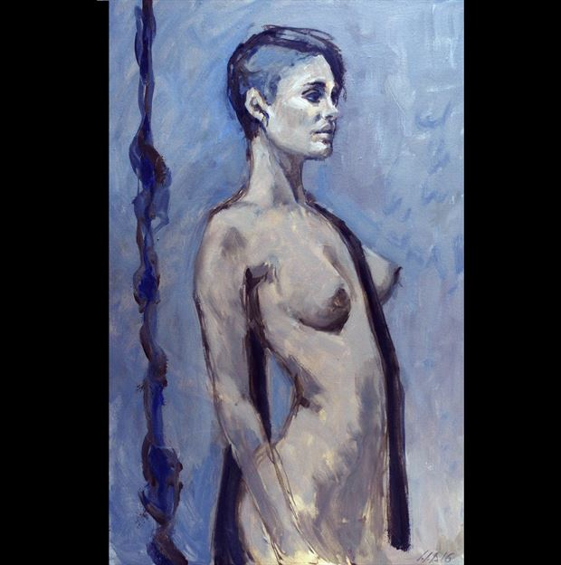 angela moira ii painting or drawing artwork by artist jean jacques andre