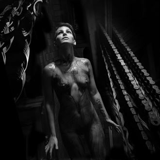 anguish chiaroscuro photo by artist jean jacques andre