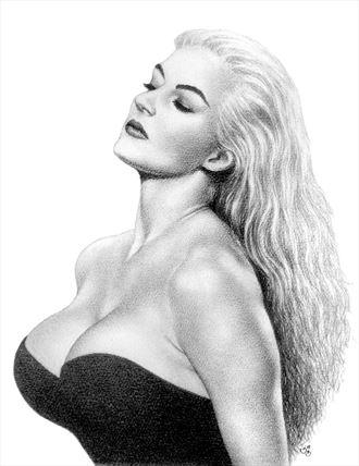 anita ekberg la dolce vita sensual artwork by artist subhankar biswas