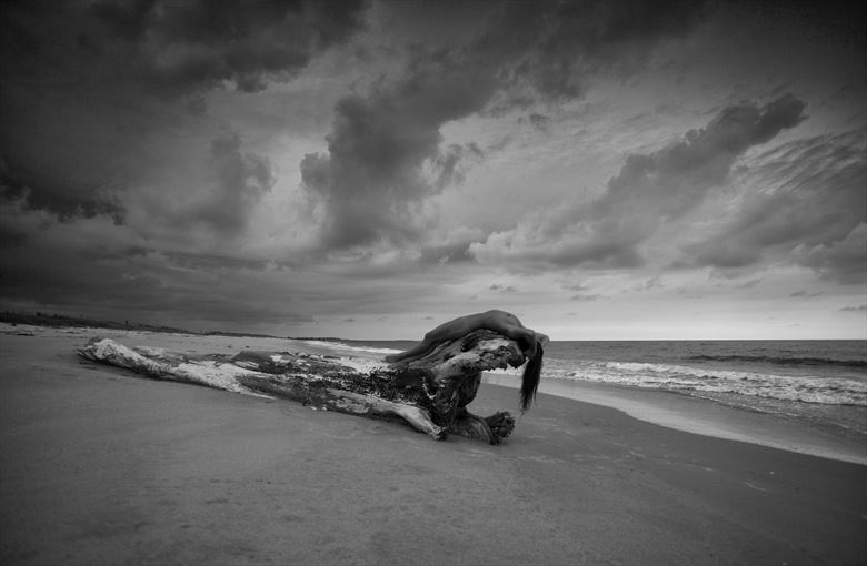 approaching storm artistic nude photo by photographer bradmiller