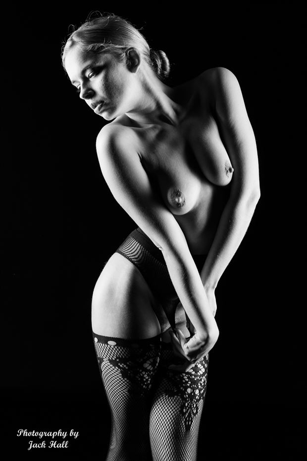 april artistic nude photo by photographer jack hall