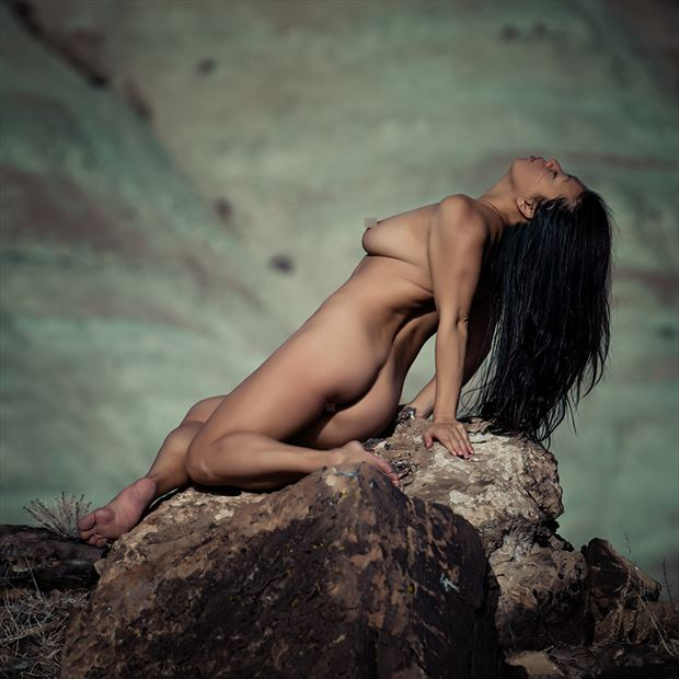 april in moab artistic nude photo by photographer robert m bennett