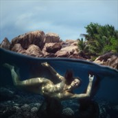 aqua Erotic Photo by Photographer dml