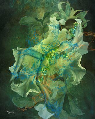 aquarius 2021 artistic nude artwork by artist digital desires