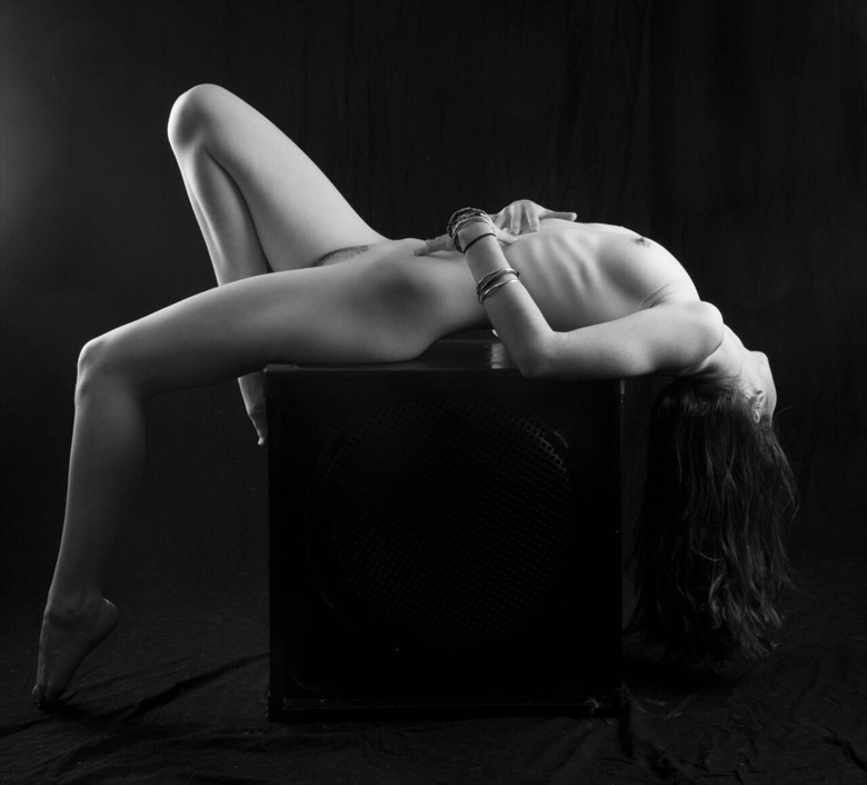 arched Artistic Nude Photo by Photographer Allan Taylor