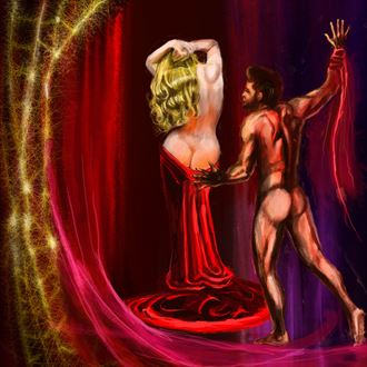 ares and aphrodite 2 fantasy artwork by artist nick kozis