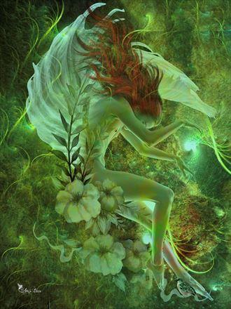 arethusa fantasy artwork by artist digital desires