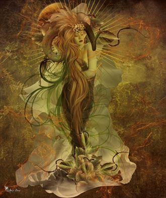 aries 2021 fantasy artwork by artist digital desires