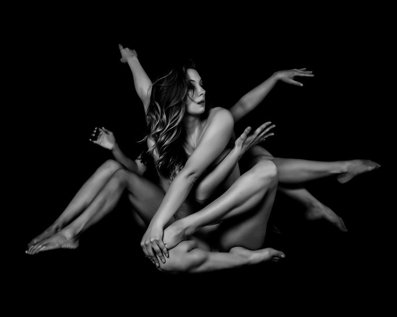 arms and legs artistic nude photo by photographer robert m bennett