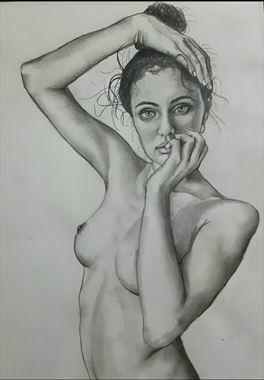 arrangements artistic nude artwork by artist pradip chakraborty