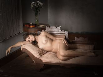 artist in repose artistic nude photo by photographer studio2107