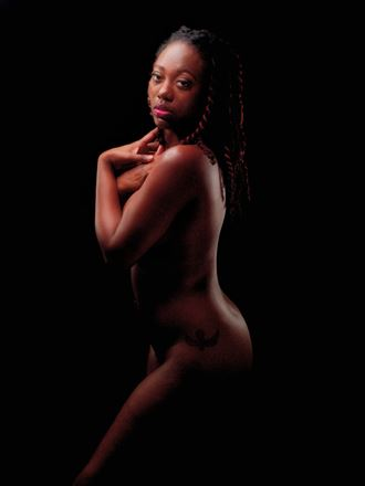 artistic nude abstract artwork by model nubianmon%C3%A8t