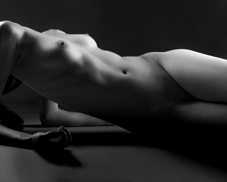 artistic nude abstract artwork by model vittoria