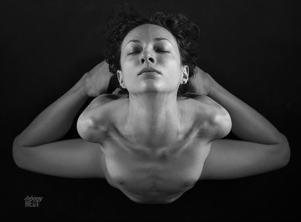 artistic nude abstract photo by model beth mg