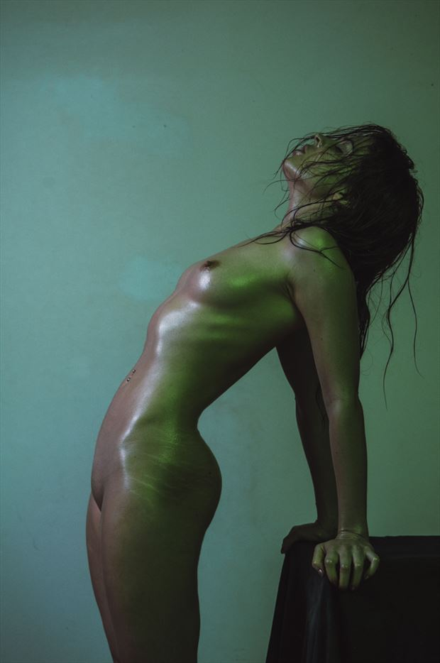 artistic nude abstract photo by model pure rebel