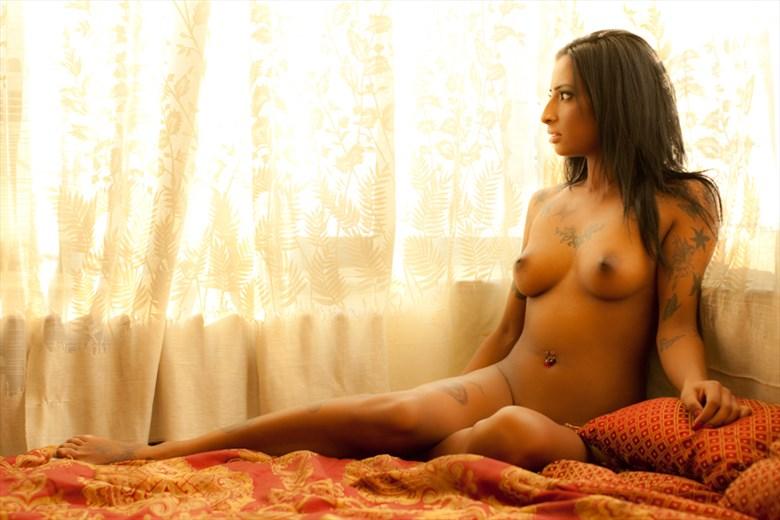 artistic nude alternative model photo by model savannah sapphire