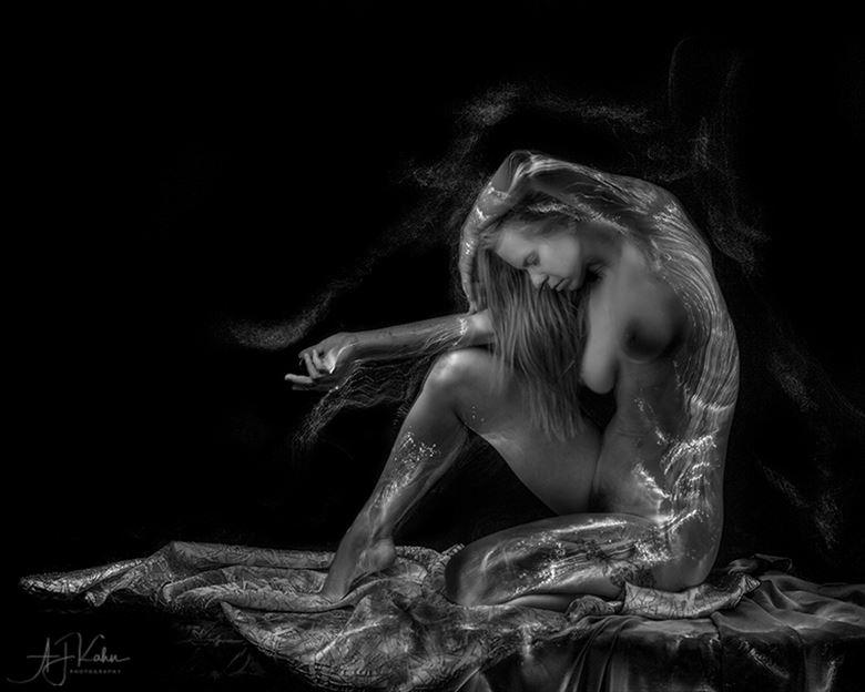 artistic nude alternative model photo by photographer aj kahn