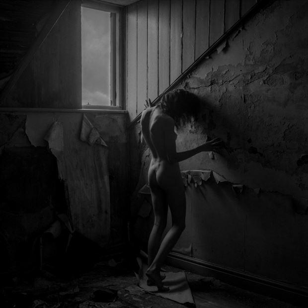 artistic nude alternative model photo by photographer christopher john ball