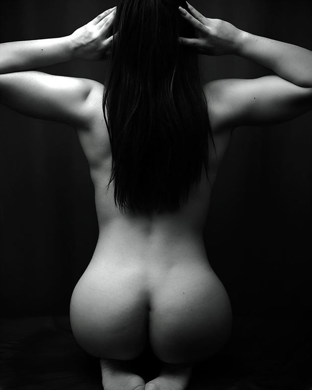 artistic nude alternative model photo by photographer drup studios