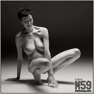 artistic nude alternative model photo by photographer m59photography