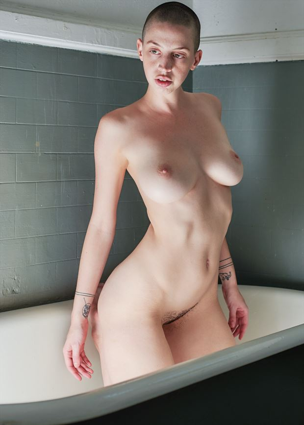 artistic nude alternative model photo by photographer teb art photo