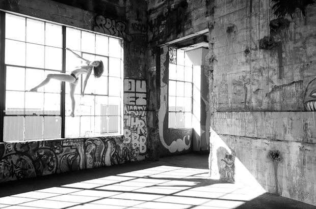 artistic nude architectural photo by photographer m2lightworks