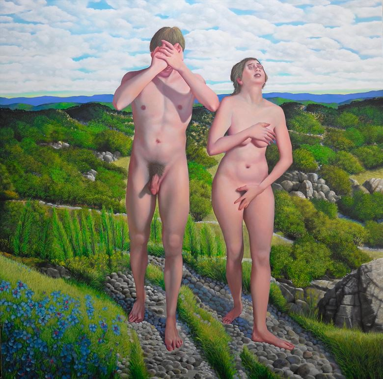 artistic nude artistic nude artwork by artist les satinover