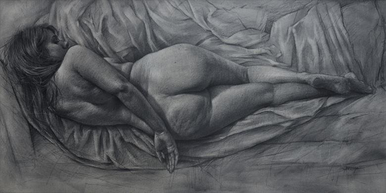 artistic nude artwork by artist jarroyoart
