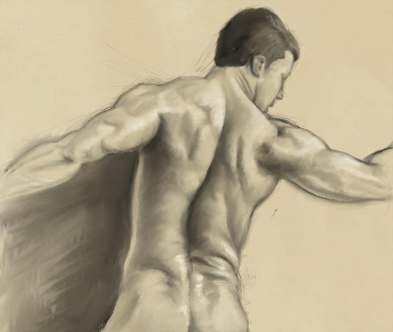 artistic nude artwork by artist nicodessin