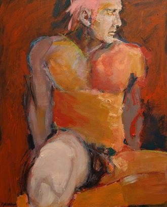 artistic nude artwork by artist paulryb