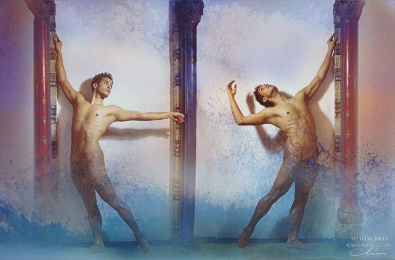 artistic nude artwork by model patrick sabel
