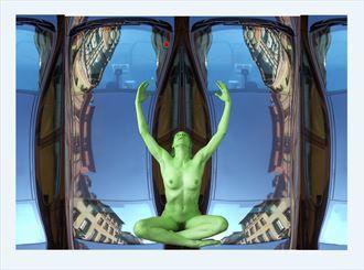 artistic nude artwork by photographer akimota