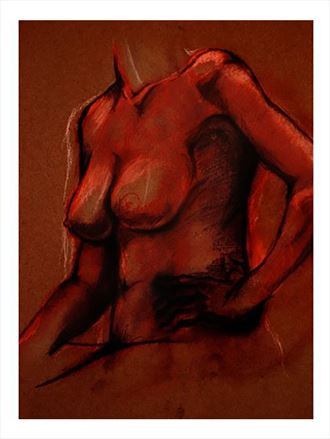artistic nude artwork by photographer aragonstudios