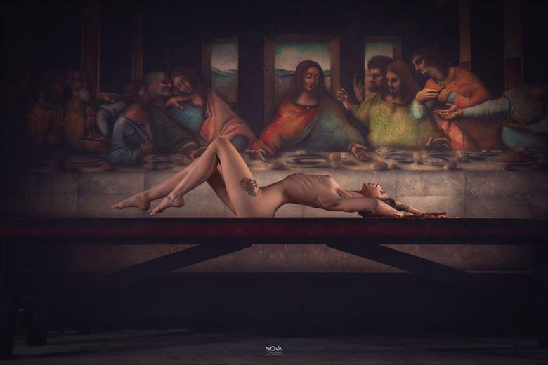 artistic nude artwork by photographer nova italian ph