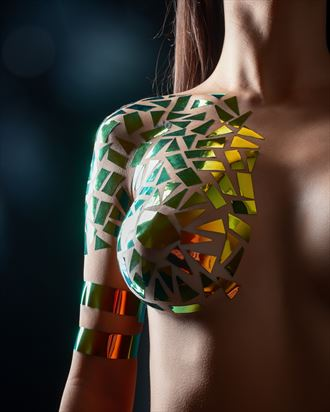 artistic nude body painting photo by photographer lomobox