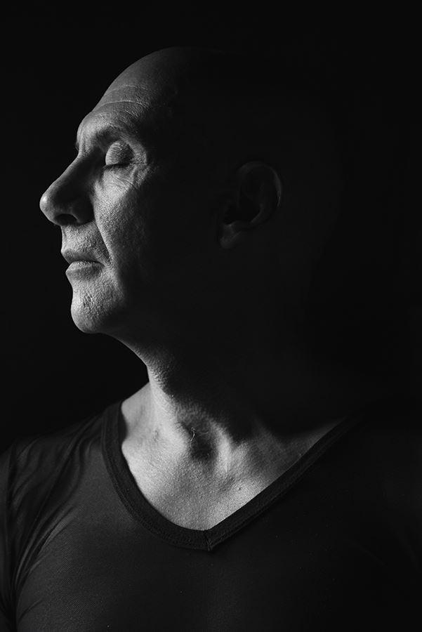 artistic nude chiaroscuro photo by model artmodel richard