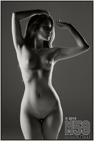 artistic nude chiaroscuro photo by photographer m59photography