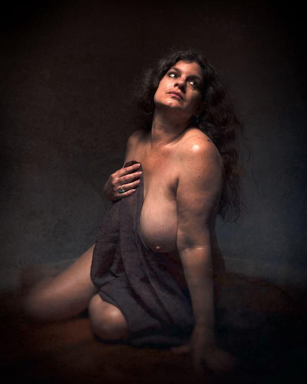 artistic nude chiaroscuro photo by photographer michael v