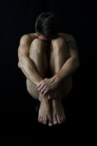 artistic nude chiaroscuro photo by photographer ricfun1la