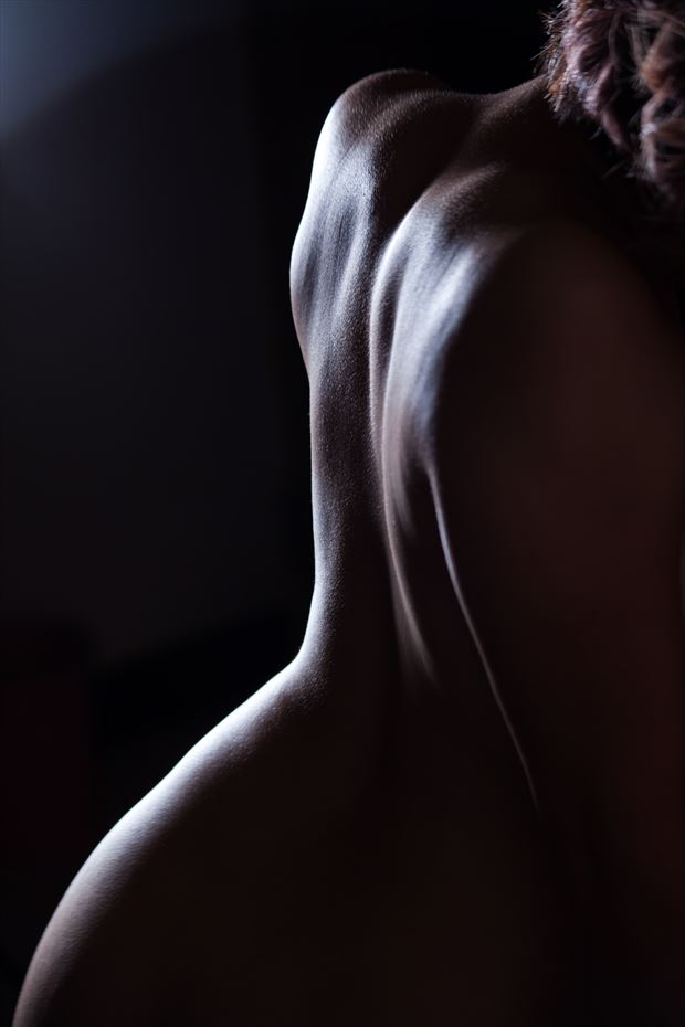 artistic nude close up artwork by photographer yoga chang
