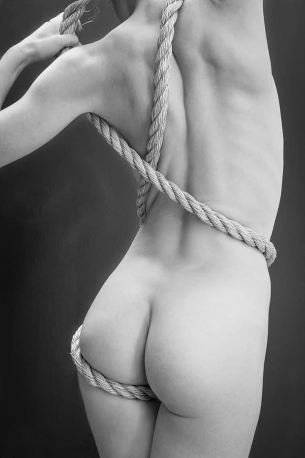 artistic nude close up photo by model vivian cove